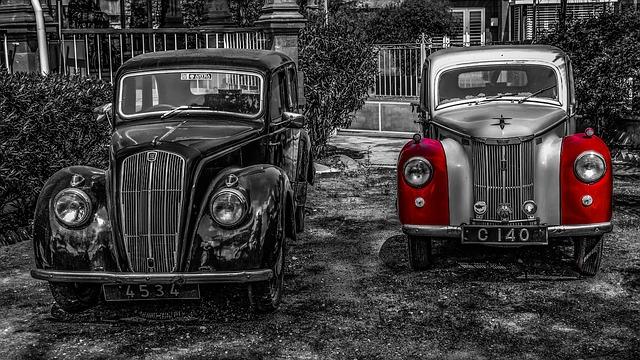 staré vozy
