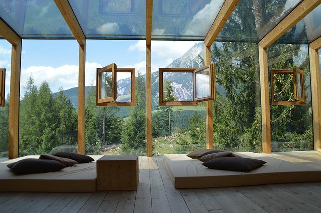 čtvercová okénka